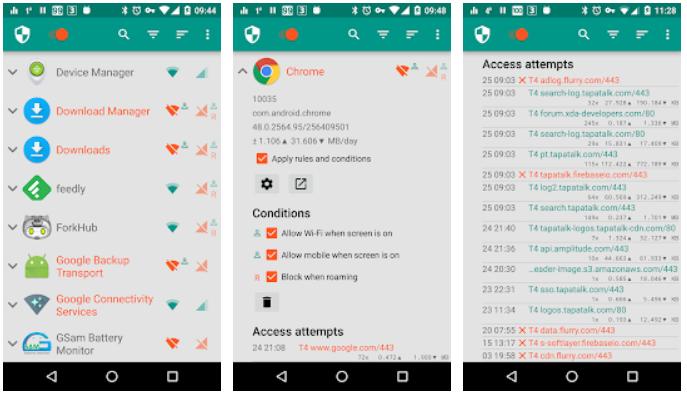 NetGuard Android Firewall