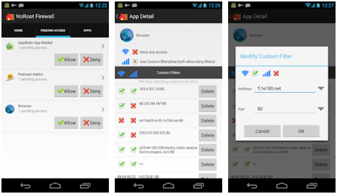 NoRoot Firewall for Android