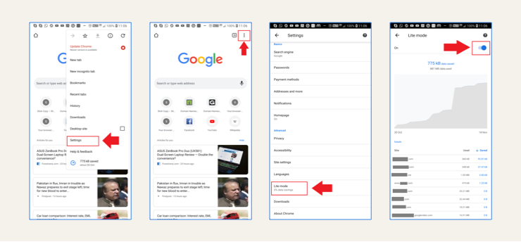 How to save data in apps - Chrome